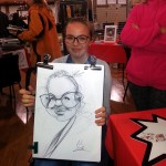 CARICATURISTE animation